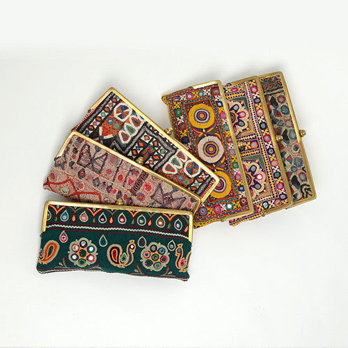 Vintage Embroidered Clutches