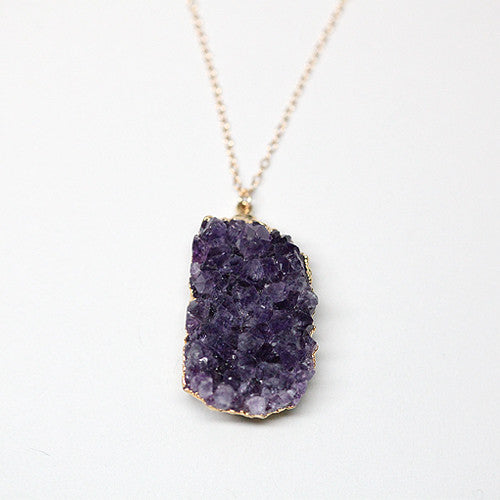 Imagine Harmony Amethyst Necklace