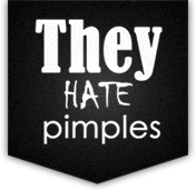 They Hate Pimples Logo