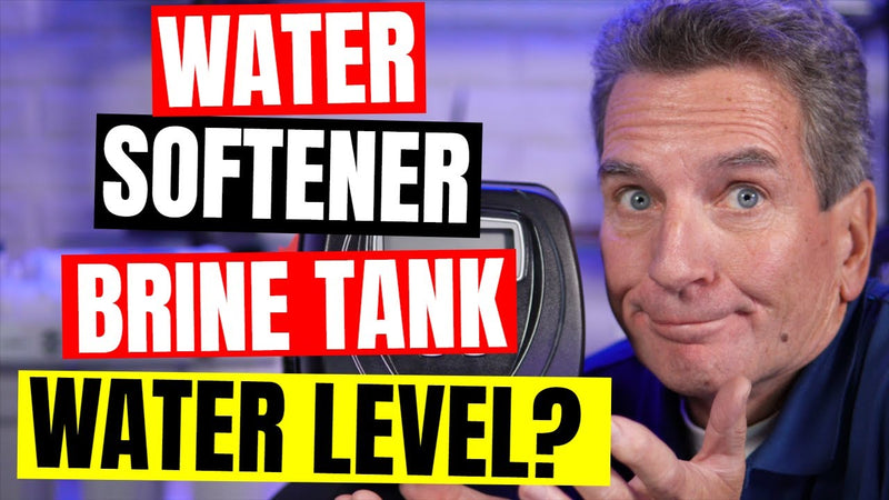 How Much Water Should Be In My Water Softener Brine Tank?