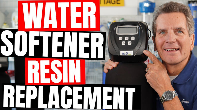 How to Replace Your Water Softener Resin or Media