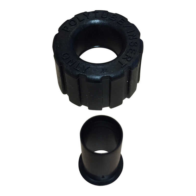 Clack WS1 Drain Elbow Nut & 5/8 Poly Tube insert