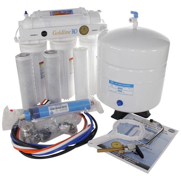 Goldline 50 gpd Reverse Osmosis System Free Shipping