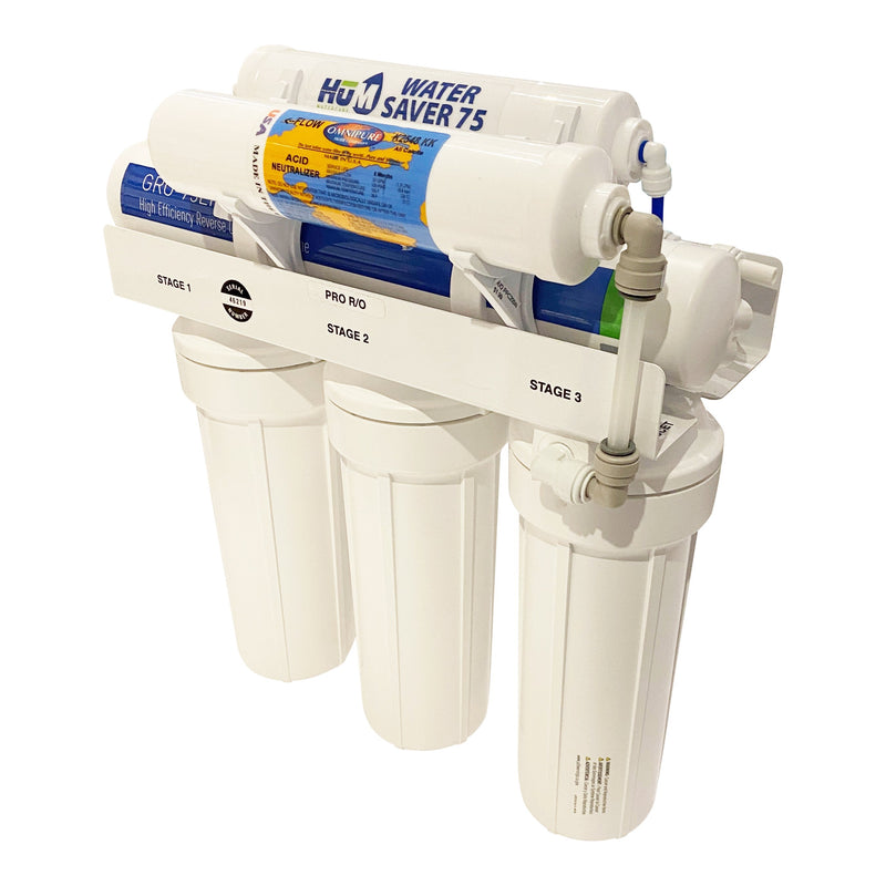 HUM Water Care 75 Reverse Osmosis Remineralization Kit Installed
