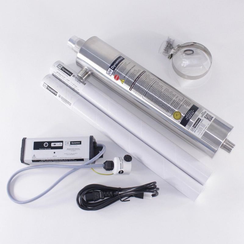 UV Dynamics 16 gpm UV Disinfection Water Filter System Part #UVD 485E