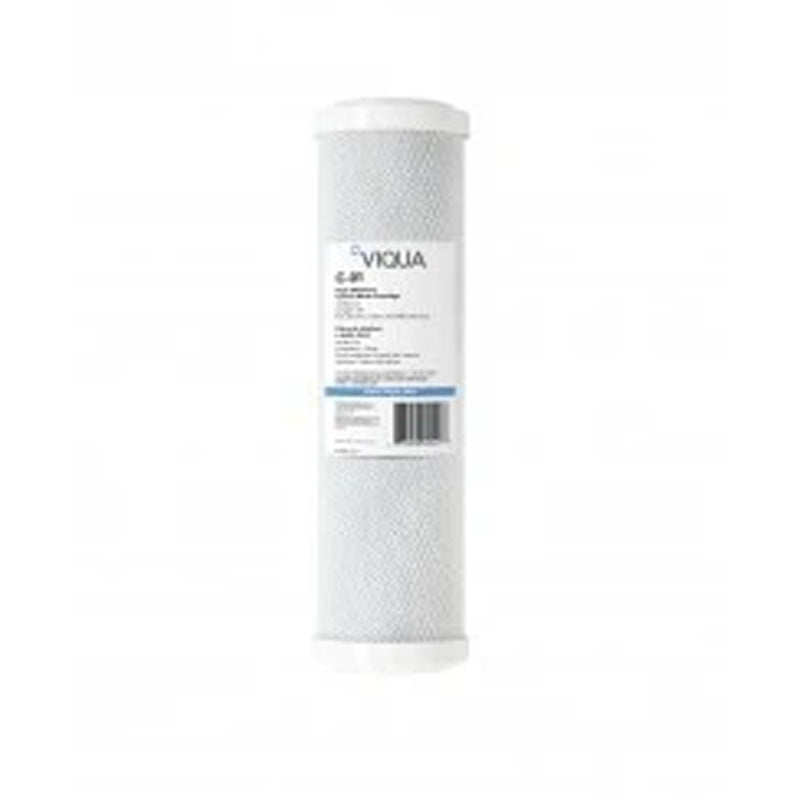 "Viqua 20"" 5 Micron Grooved Sediment Filter PP AWP110-2"