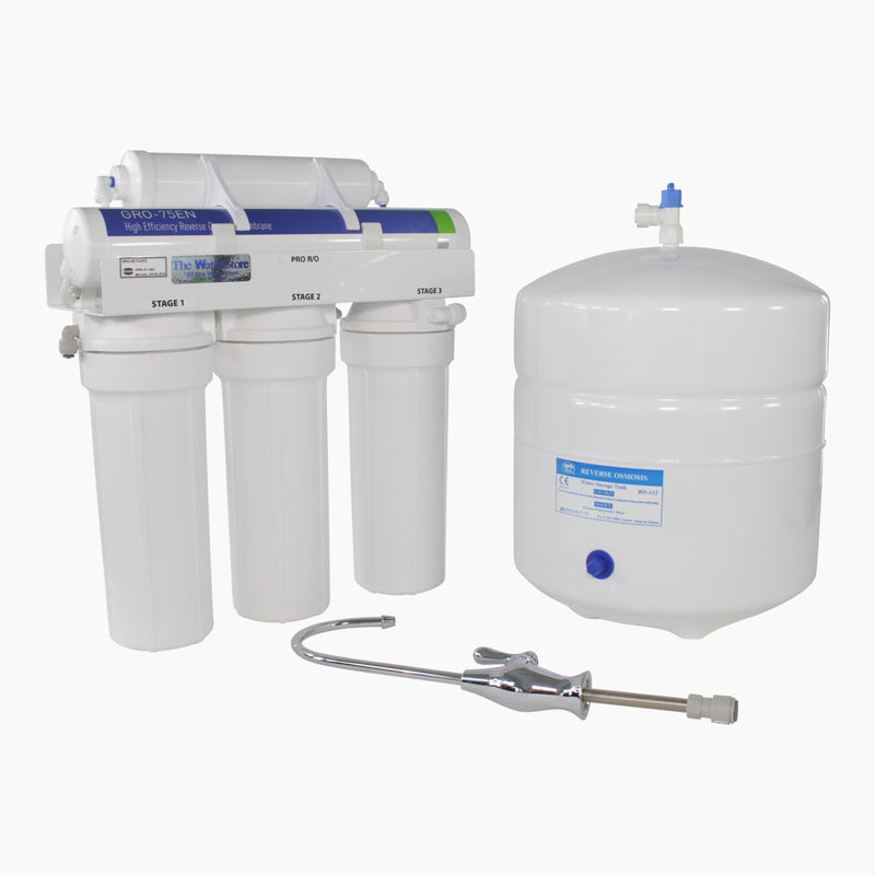 Water Saver Reverse Osmosis System with 75 Gallons Per Day