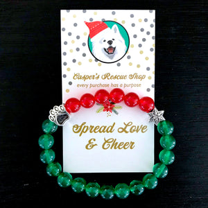 Limited Edition Christmas Paw Bracelet