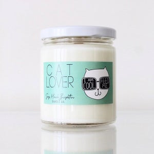 Cat Lover Candle