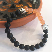 Load image into Gallery viewer, Limited Edition Pumpkin Halloween Paw Bracelet (Free With ANY Purchase!)