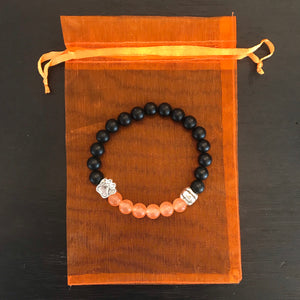 Limited Edition Pumpkin Halloween Paw Bracelet (Free With ANY Purchase!)