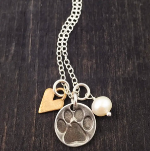 """All You Need Is Love And A Dog"" Necklace"