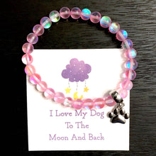 Load image into Gallery viewer, Pink Stardust Moonbeam Bracelet