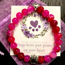 "Load image into Gallery viewer, ""Forever In My Heart"" Pink Sapphire Bracelet Care Package"