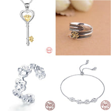 Load image into Gallery viewer, Sterling Silver Ring, Necklace & Bracelet Set