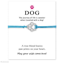 "Load image into Gallery viewer, Blue ""Wish Upon A Paw"" Bracelet Care Package"