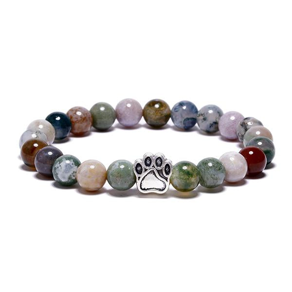 Agate Paw Bead Bracelet Care Package