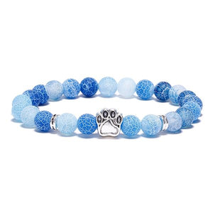 """The Four Elements"" Paw Bracelet: Water"