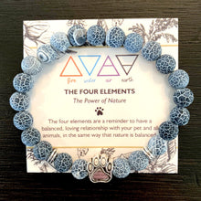 "Load image into Gallery viewer, ""The Four Elements"" Paw Bracelet: Earth"