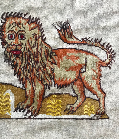 ANTIQUE LION CARPET