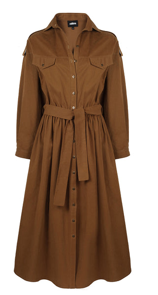 SARA TRENCH COAT DRESS