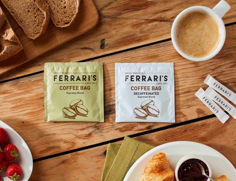 Ferraris Espresso Coffee Bags 50pack