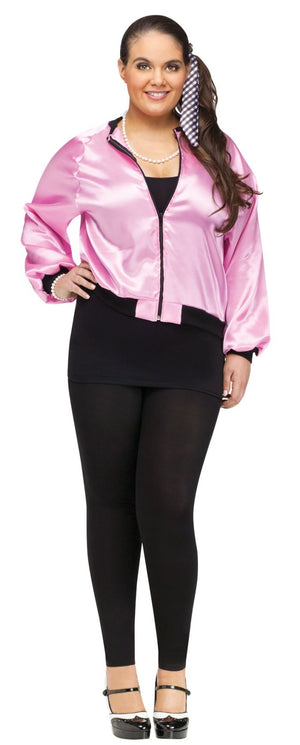 50's Ladies Pink Jacket Plus Size