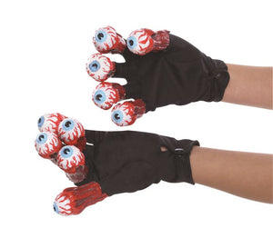 Beetlejuice Eyeball Gloves