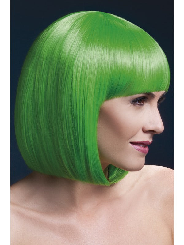Elise Professional Wig Neon Green