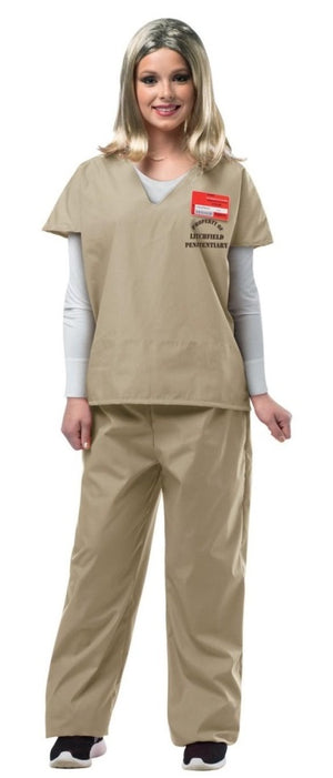 Beige Prisoner Suit