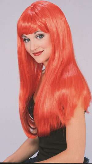 Glamour Wig Red