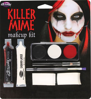 Killer Mime Makeup Kit