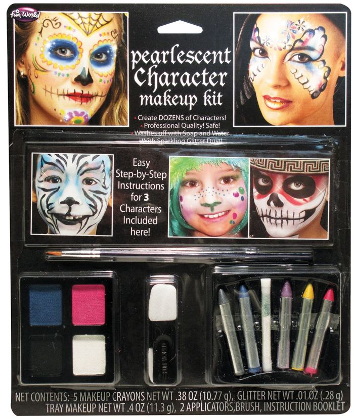 Pearlescent Character Makeup Kit