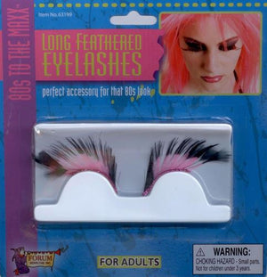 80's Long Feathered Eyelashes