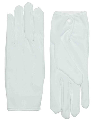 Parade Gloves in White