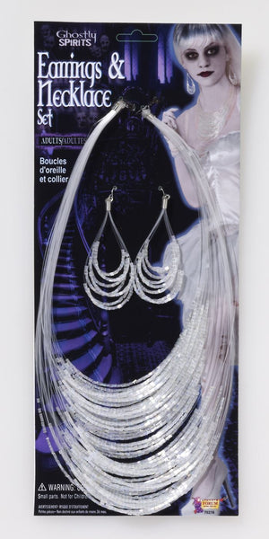 Ghostly Spirits Earrings Necklace Set