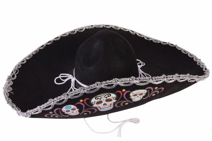 Deluxe Day of the Dead Sombrero