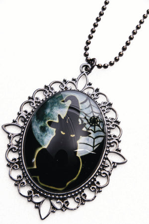 Cameo Cat Necklace