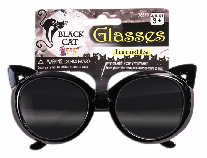 Black Cat Glasses