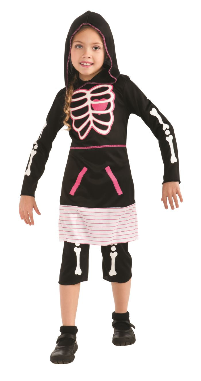 Pink Skeleton Girl