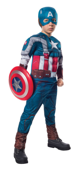 Captain America Muscle Retro Suit