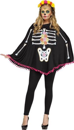 Day of the Dead Poncho