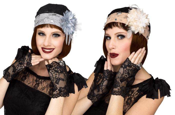 1920's Lace Hat & Mitts Kit
