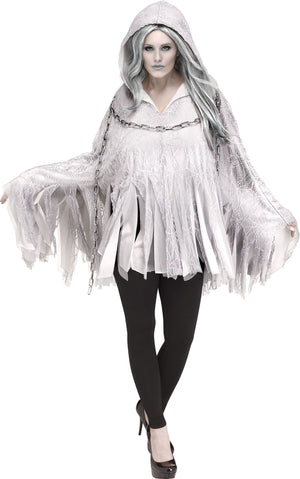Ghost Deluxe Poncho