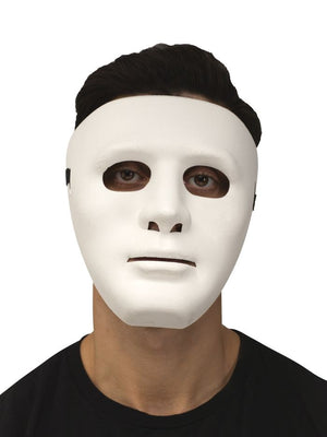 Blank Face White Mask
