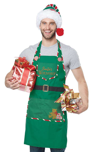 Santa's Workshop Apron