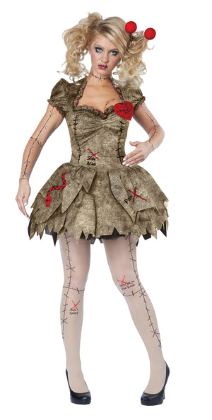 California Costumes Voodoo Dolly Adult Costume