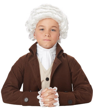 Children's Colonial Man Wig
