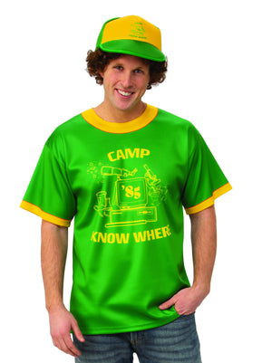 "Dustin's ""Camp Know Where"" T-Shirt"