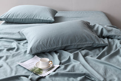 Pillowcases Shams Tensile linen sheets Linen Bedding